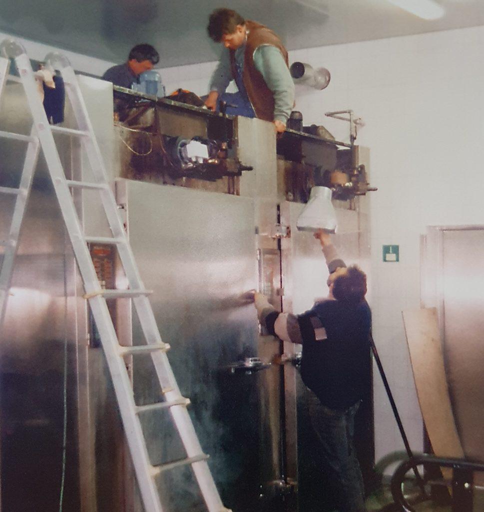 Bau schlüsselfertiger Lebensmittelbetrieb